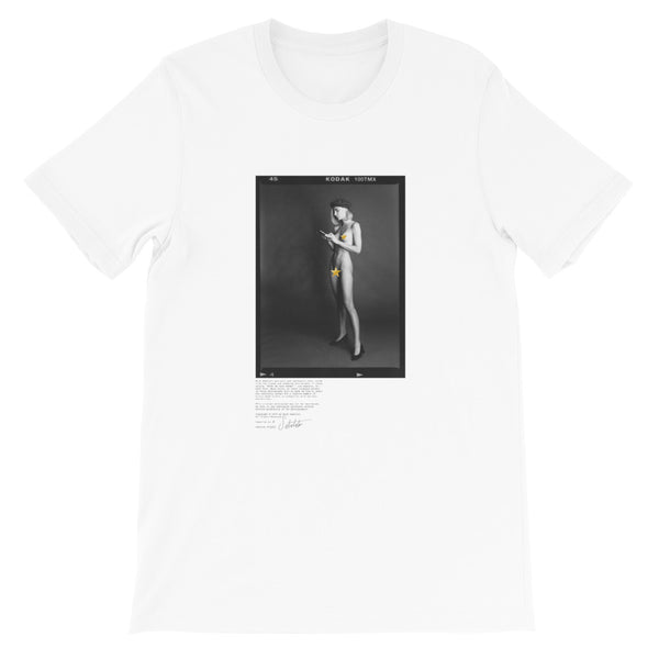 """MACY ON HER PHONE"" - Short-Sleeve Unisex T-Shirt"