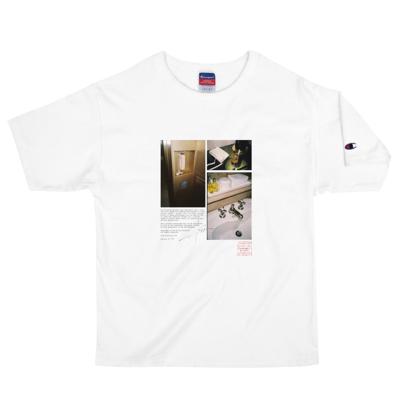 """RITZ"" - SHORT SLEEVE UNISEX HEAVYWEIGHT T-SHIRT PHOTO PRINT"