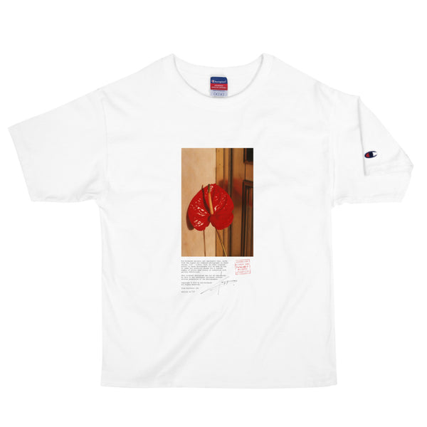 """#13"" - SHORT SLEEVE UNISEX HEAVYWEIGHT T-SHIRT PHOTO PRINT"