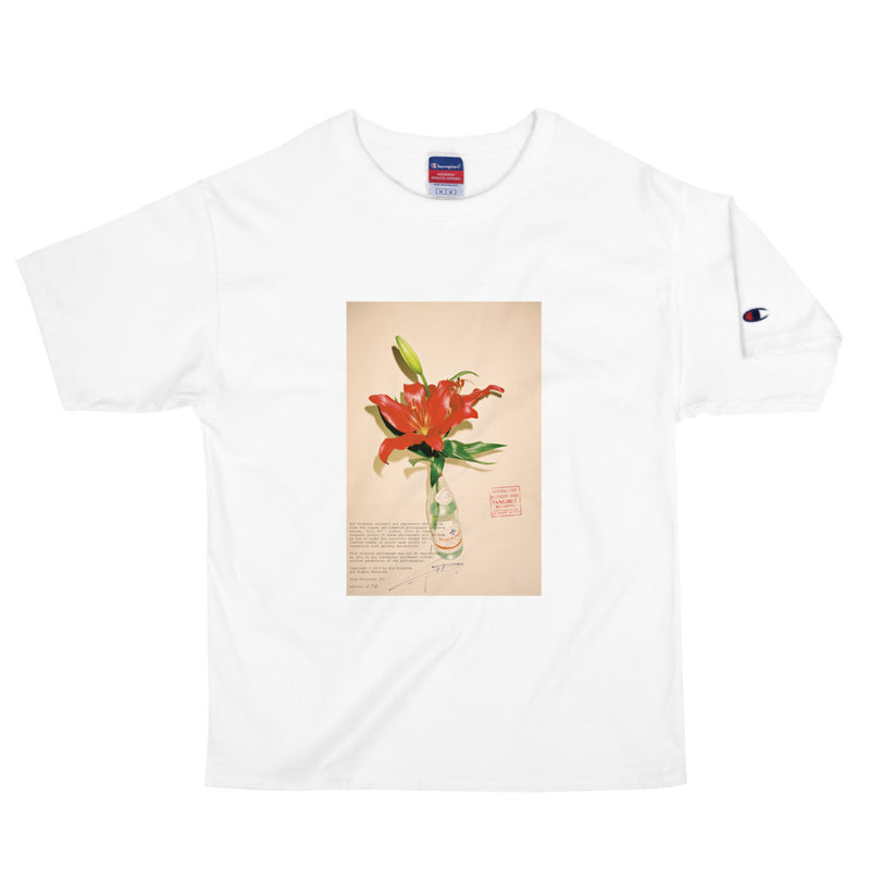 """LILLY #1"" - SHORT SLEEVE UNISEX HEAVYWEIGHT T-SHIRT PHOTO PRINT"