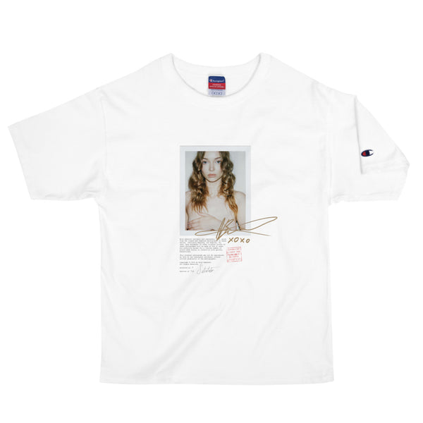"""PARTIALLY EXPOSED"" - Short Sleeve Unisex Heavyweight Photo Print T-Shirt"