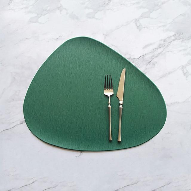 The Jetson Vegan Leather Placemat Collection