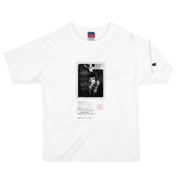 """SMOKING HOT"" - SHORT SLEEVE UNISEX HEAVYWEIGHT T-SHIRT PHOTO PRINT"