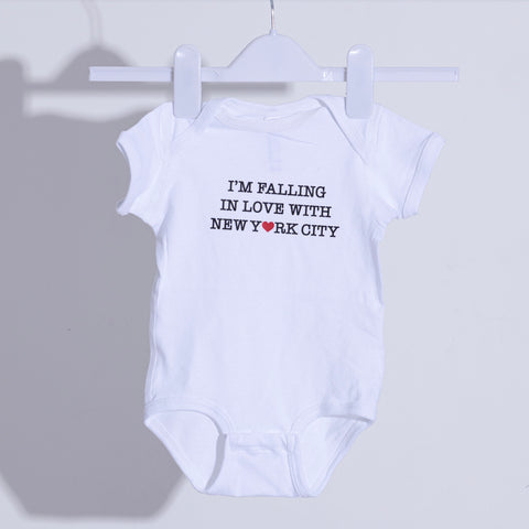 Falling in love with New York City Onesie