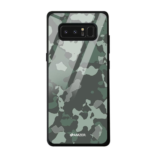 AMZER Glass Case with HD Design - Amazon green