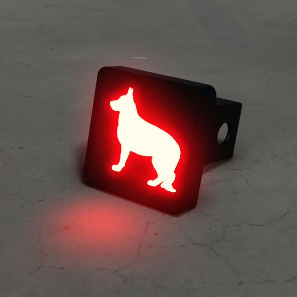 German Sheppard LED Brake Hitch Cover