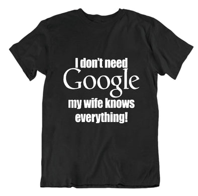 I Don't Need Google my Wife Knows Everything