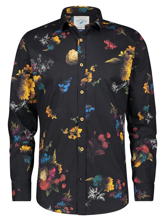 Camisa Flower Painting