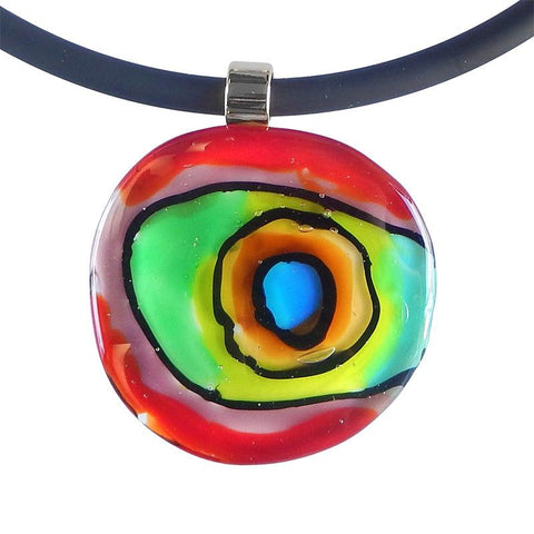 - ABSTRACT • murano glass necklaces