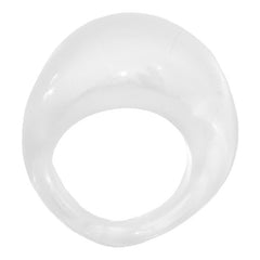 BOMBINO • murano glass ring • WHITE