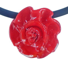 ROSA • ROSE murano glass necklaces