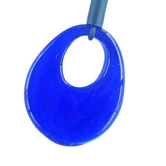 OVALE lungo • Murano Glass Bolo Lariat Necklace