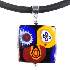 MILLEFIORI SQUARE • Murano Glass Necklace