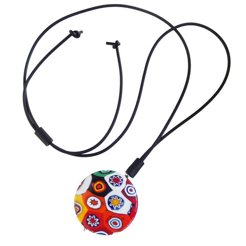 MILLEFIORI XL lungo • Murano Glass Lariat Necklace