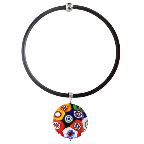 MILLEFIORI XL • Murano Glass Necklace