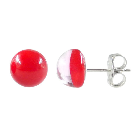 MINI • murano glass stud earrings