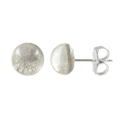 MINI SPARKLE • murano glass stud earrings