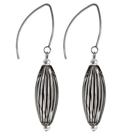 SOFFIA FILIGRANA • murano blown glass earrings