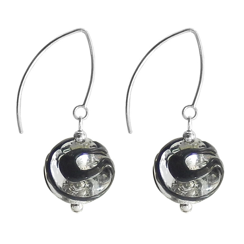 SWIRL • murano glass earrings
