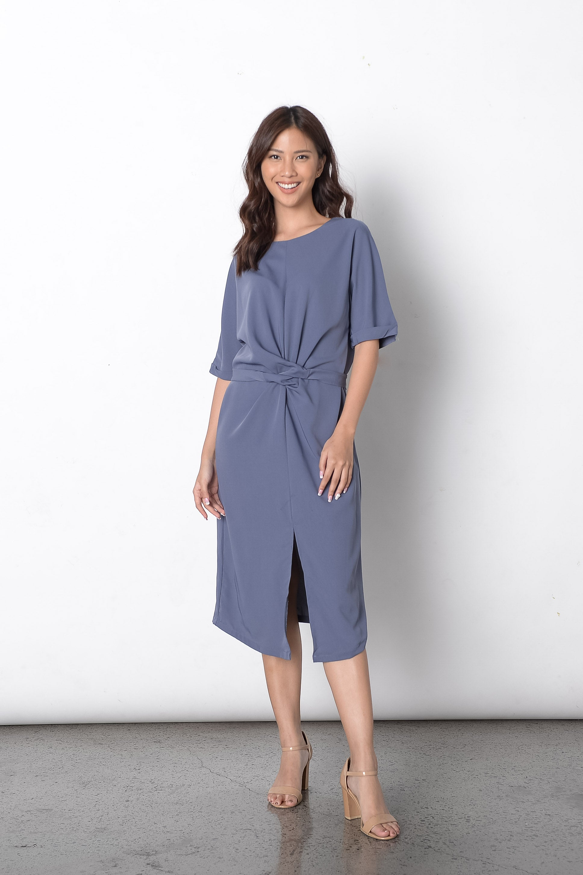 Diantha Dress in Blue