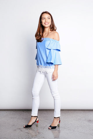 Alyx Top in Blue