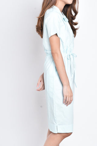 Ava Dress in Light Blue