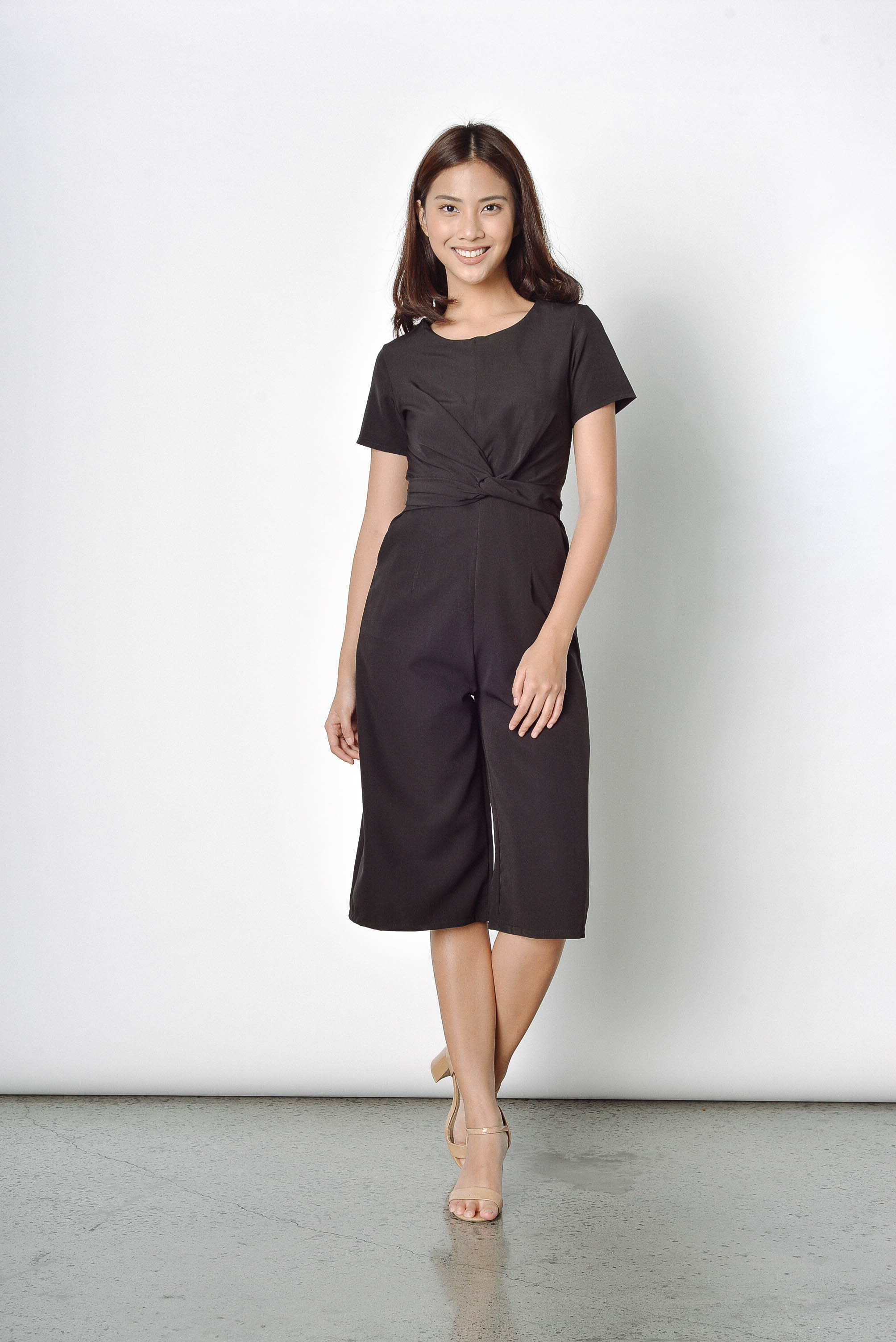 December Culottes in Black