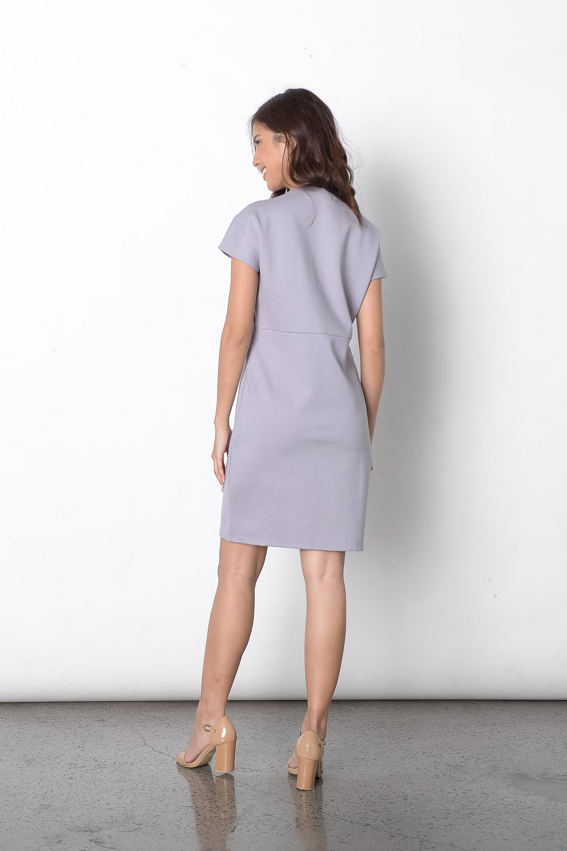 Dido Dress in Grey