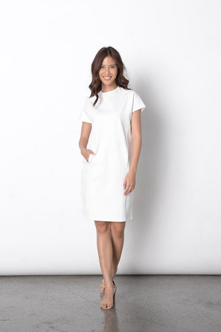 Dido Dress in White