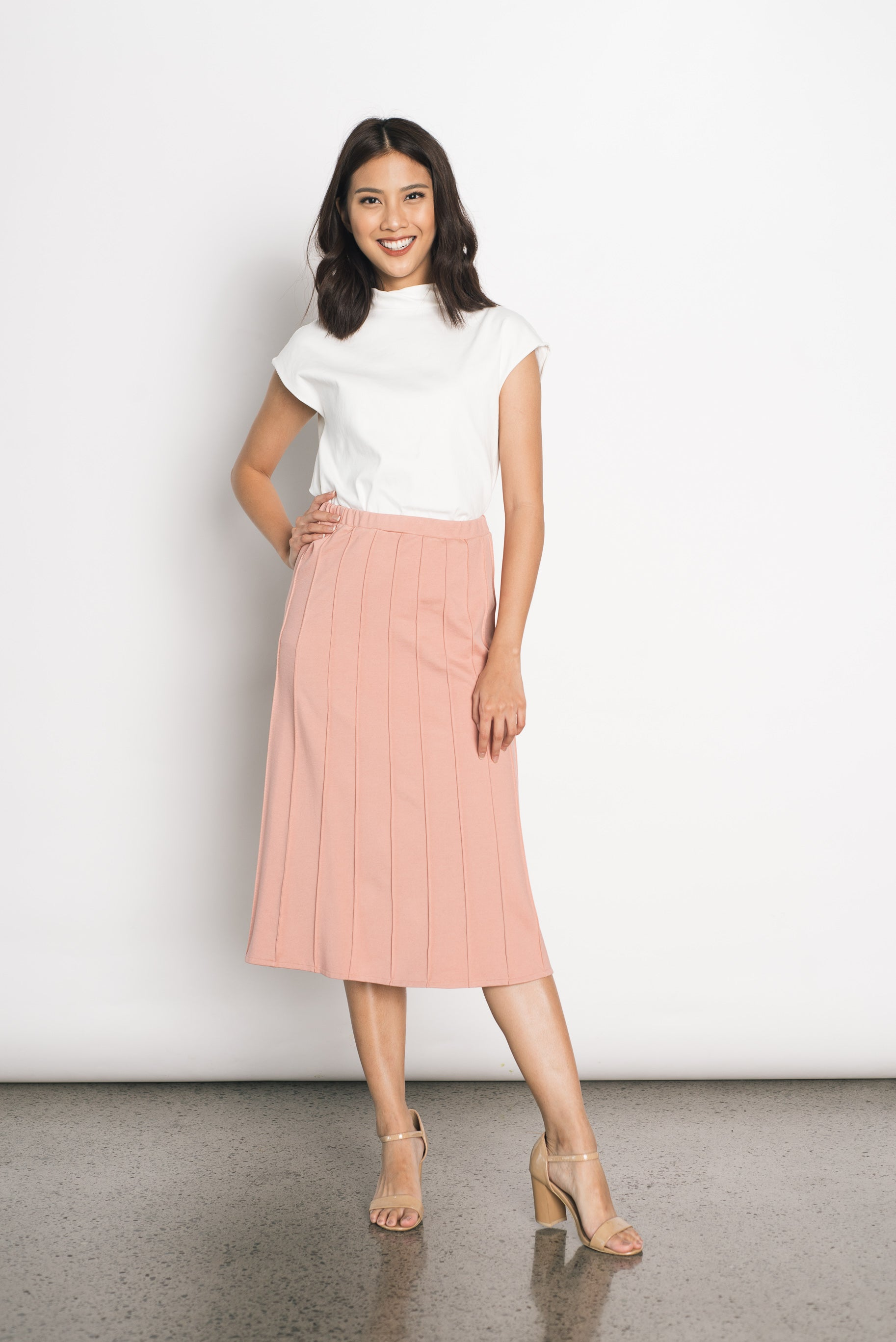Dorika Skirt in Pink