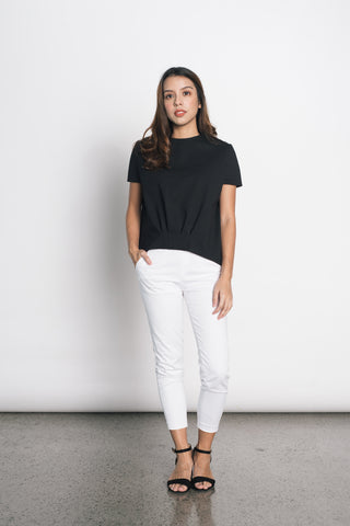 Roslyn Top in Black