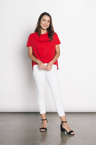 Doroteia Top in Red