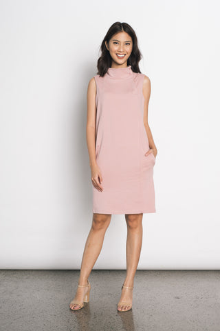 Duci Sleeveless Dress in Pink