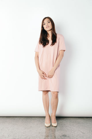 Gavriella Dress in Pink