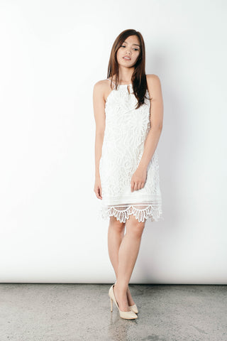 Jet Dress in White