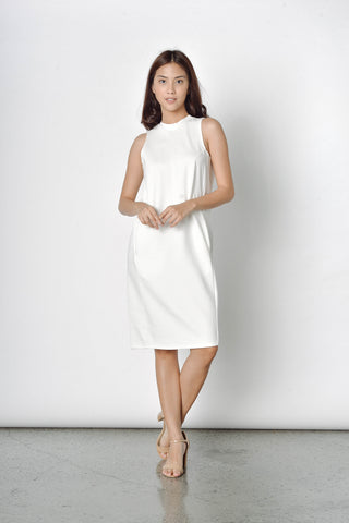 Jade Dress in White