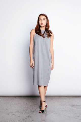 Jade Dress in Grey