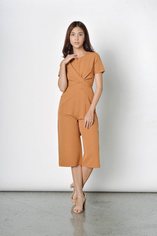 Opal Tied Up Culottes in Brown