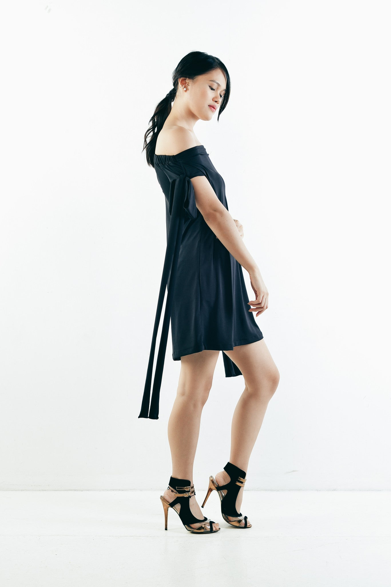Emelie Dress in Black