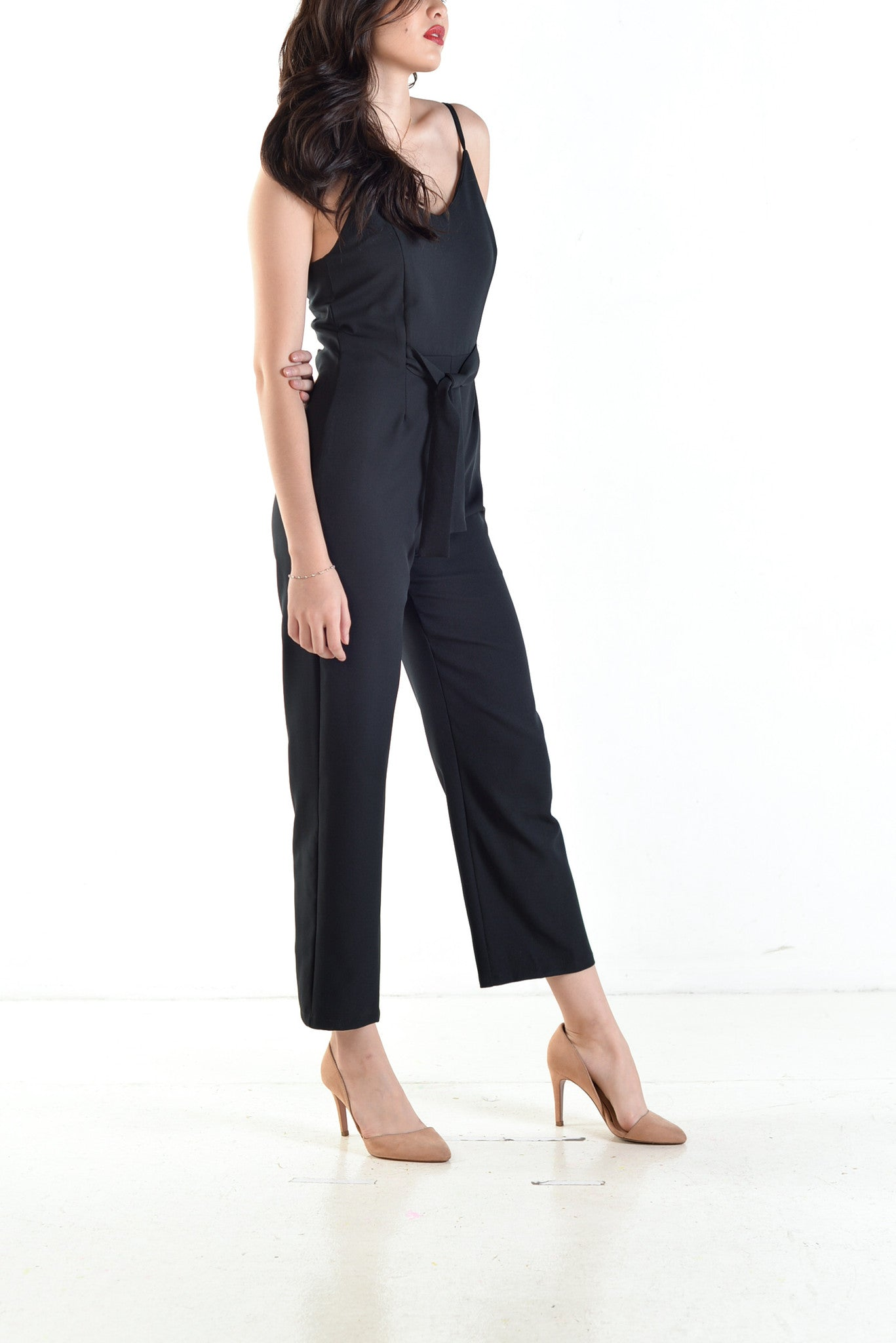 Oudine Jumpsuit in Black