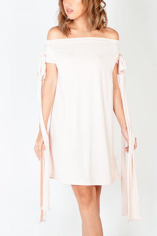 Emelie Dress in Blush