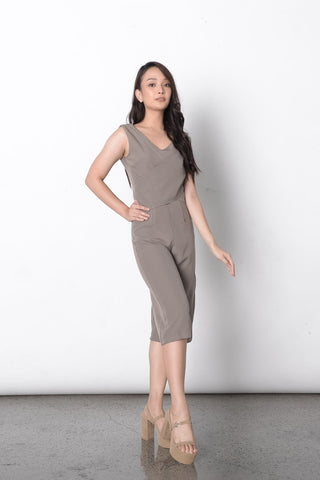 Zirconia Jumpsuit in Lavander