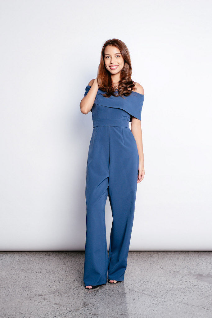Wila Jumpsuit in Blue