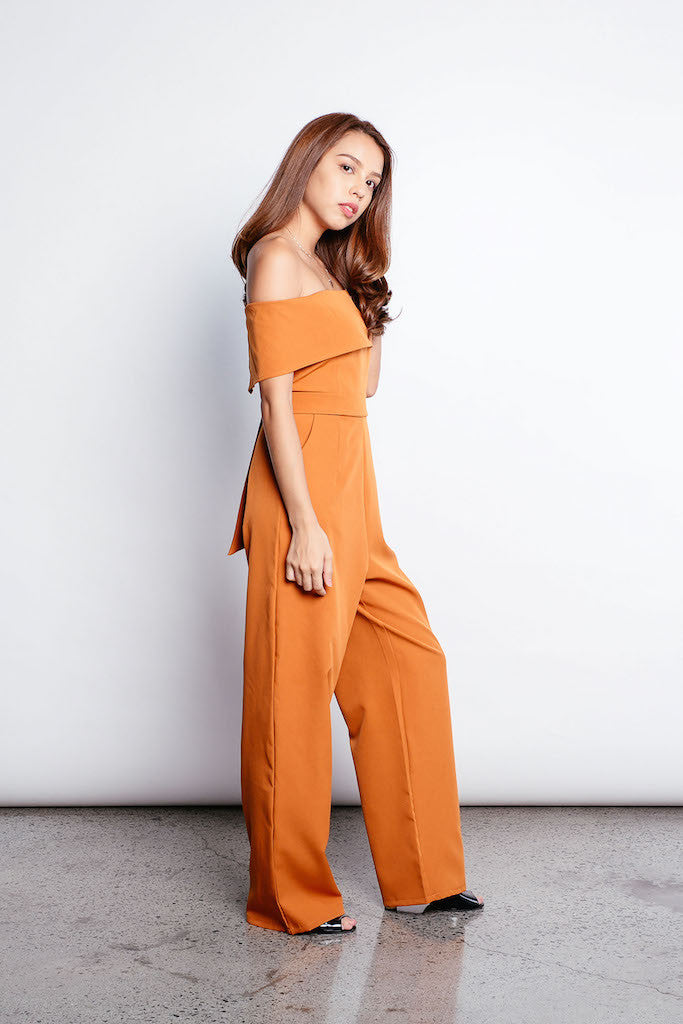 Wila Jumpsuit in Brown