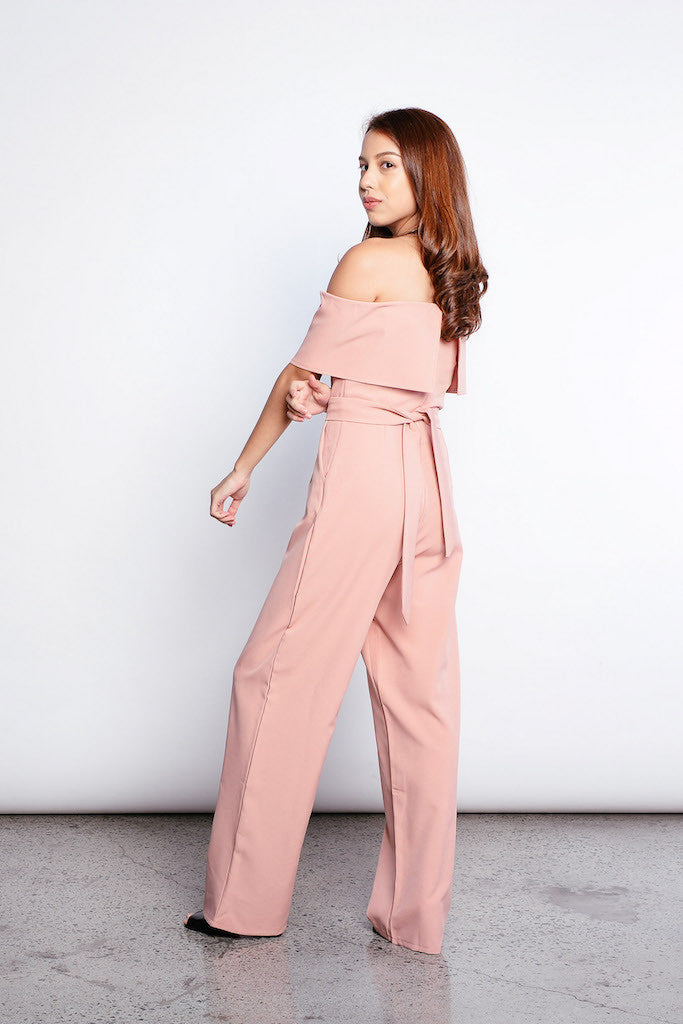 Wila Jumpsuit in Pink