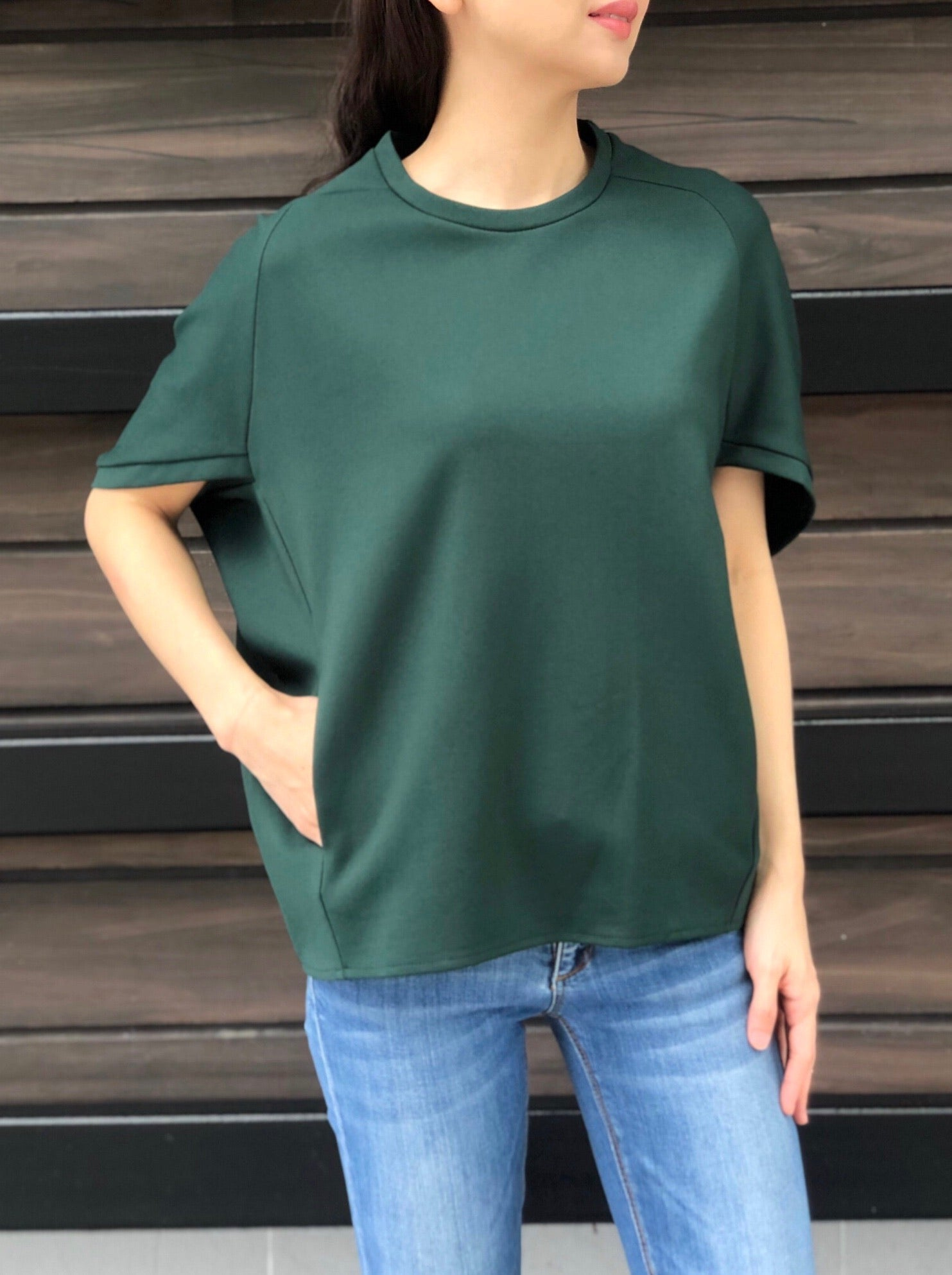 Malia Top in Green