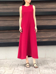 Donoma Dress in Red