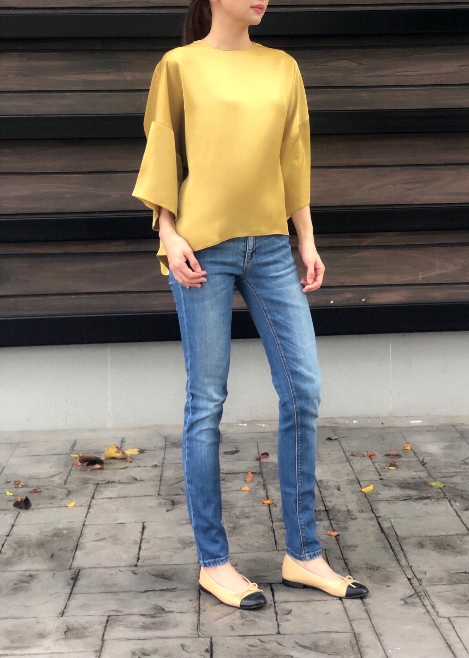Katalin Top in Gold