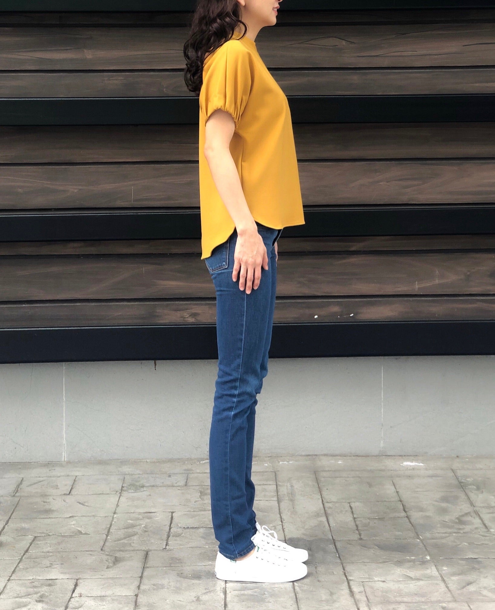 Lauraine Top in Mustard