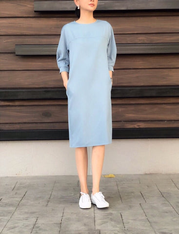 Dionisia Top in Blue